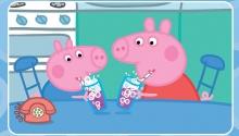 Свинка Пеппа і Джордж обожнюють лимонад