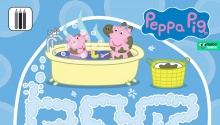 Свинка Пеппа і Джордж хлюпаються в калюжі та ванній