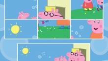 Свинка Пеппа з родиною збираються на прогулянку