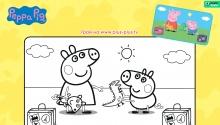 Свинка Пеппа і Джордж збираються у подорож