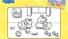 Свинка Пеппа і Джордж збирають валізи
