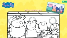 Свинка Пеппа і родина мандрують літаком