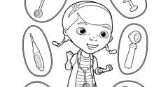 Лікар Плюшева та її інструменти