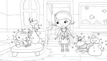 Розмалюй Плюшеву та її друзів