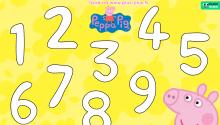 Свинка Пеппа вчить цифри. Долучайся!