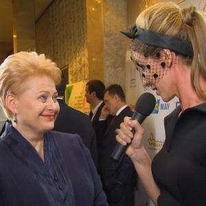 Даля Грибаускайте розповість Катерині Осадчій про жіночі методи в політиці