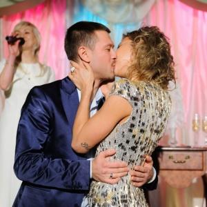 Весілля Дмитра Ступки та Поліни Логунової