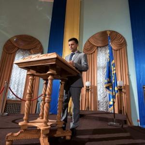  Зеленський обговорював свої президентські амбіції з Вакарчуком (ВІДЕО)