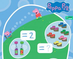 Рахуй зі Свинкою Пеппою!
