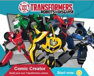 Створюй свій комікс з трансформерами