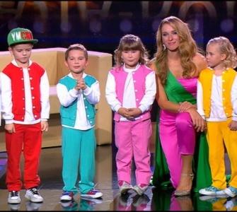 Змагання малюків в оригінальному жанрі. Перший раунд. Маленькі гіганти. Гала - концерт