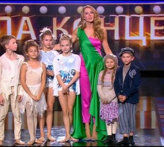 Оголошення переможця у категорії танцюристи. Маленькі гіганти. Гала - концерт