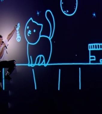 """Фелікс Морозов """"Michelle"""" - Голос Країни - Перший прямий ефір - Сезон 5"""