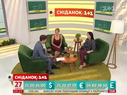 Ірина Дерюгіна та Іріша Блохіна в гостях