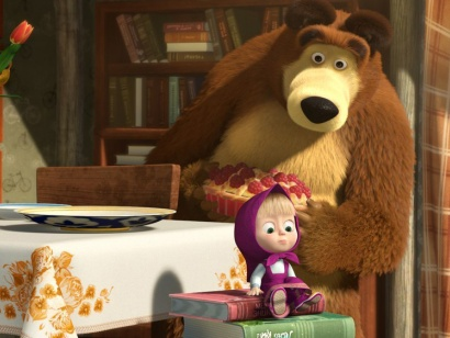 Маша і Ведмідь. Дихайте! Не дихайте!