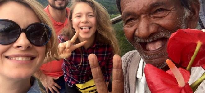Світське життя: Олена Кравець побувала на Шрі-Ланці