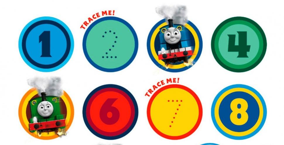 Вчись рахувати разом з Томасом