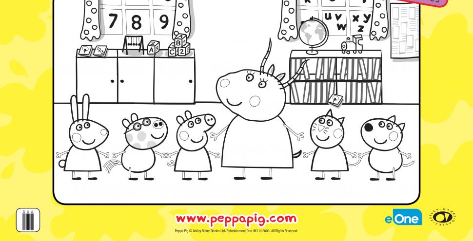 Свинка Пеппа та її шкільні друзі