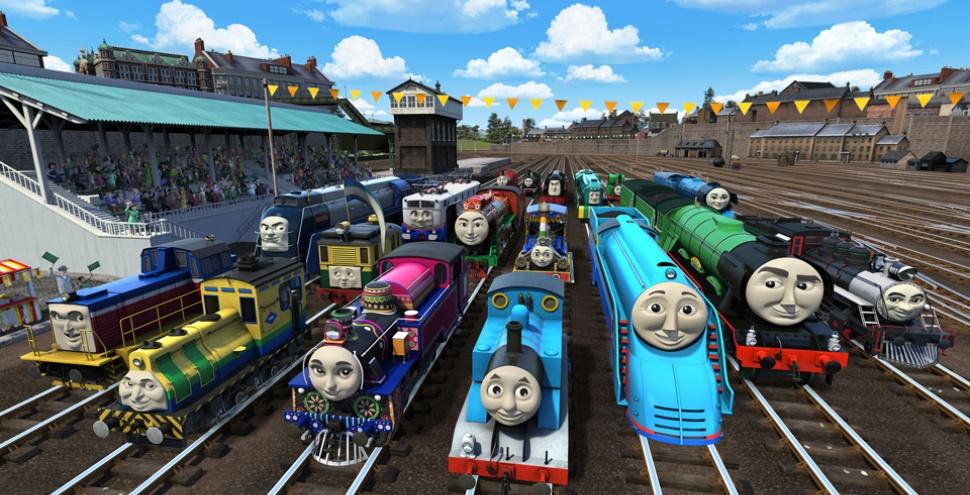 Томас і друзі. Великі перегони