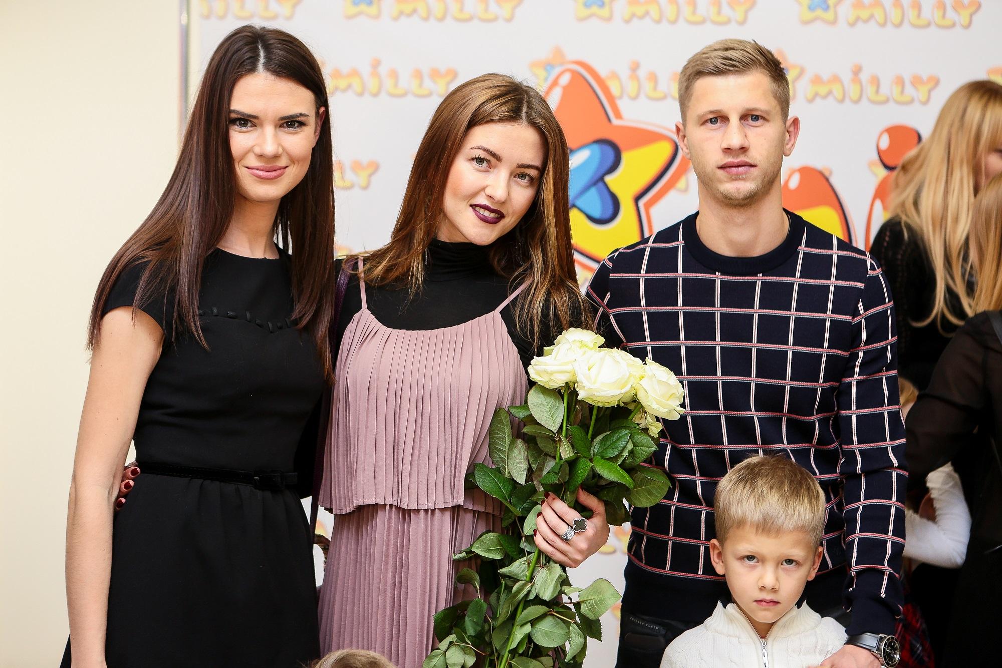 Олександра Лобода та гості показу