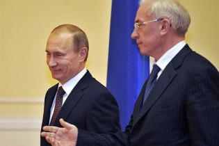 Азаров і Путін за два місяці вирішать долю української труби