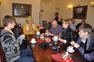 Катя Осадча провела один день у Празі зі співачкою Валерією