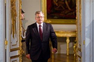Коморовський: Процес примирення РФ і Польщі буде нелегким