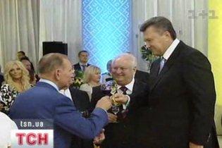 Янукович дав урочистий прийом з нагоди Дня Незалежності