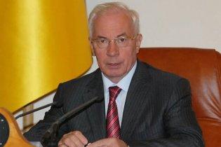 Азаров назвав галузі, робота яких не влаштовує уряд