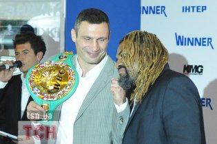 Виталий Кличко привез в Киев последнего чемпиона-американца