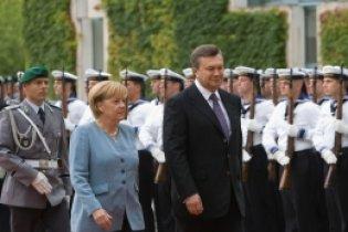 Меркель задоволена зустріччю з Януковичем