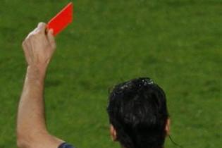 В Аргентине судья показал 36 красных карточек за матч