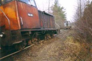Чергова аварія на залізниці Росії