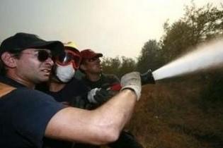 В околицях Афін бушують лісові пожежі