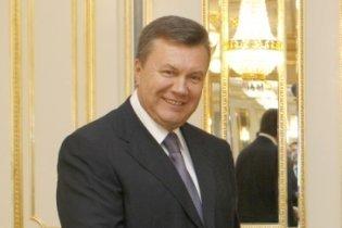 Янукович начал визит в Китай