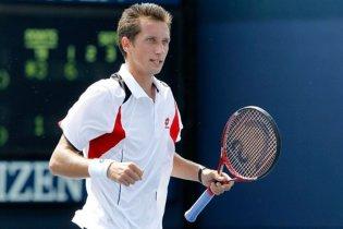 Стаховський вперше в кар'єрі пробився у друге коло US Open