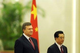 Янукович домовився залучити 4 млрд доларів інвестицій з Китаю