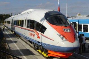 """Россия хочет запустить на Киев скоростной поезд """"Сапсан"""""""