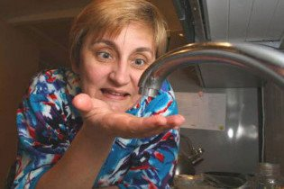 На следующей неделе киевлянам отключат холодную воду