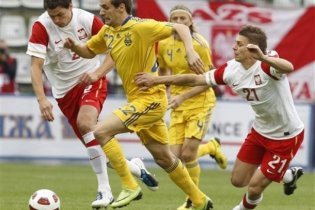 Україна врятувала нічию з Польщею в дебютному матчі Калитвинцева