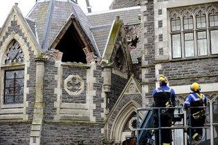 Разрушенный землетрясением новозеландский город Крайстчерч будут восстанавливать 20 лет