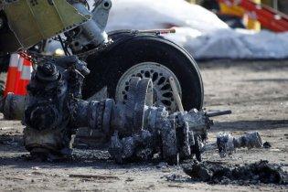 На улицу американского города упал самолет, есть жертвы