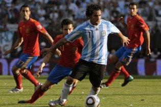 Аргентина разгромила Испанию (видео)