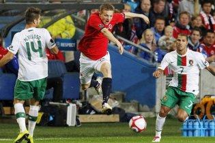 Євро-2012. Португалія зазнала фіаско в Норвегії