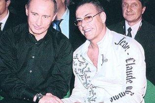 Ван Дамм вчить Путіна карате, а той розповідає йому історію України