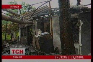 В Донецке взорвался частный дом