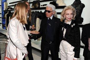 Карл Лагерфельд открыл бутик Chanel в Сохо