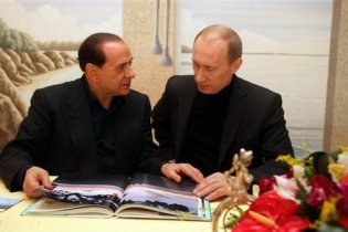 Путін вирізав з грудей оленя серце і подарував його Берлусконі