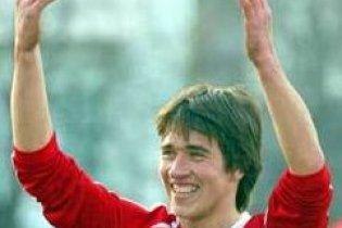 Білоруський футболіст показав вболівальникам голий зад
