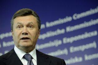 У Європі побачили, що Янукович ефективно управляє Україною